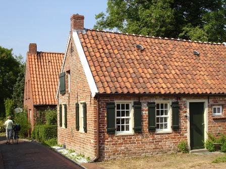 Ostfriesische Häuser in Grimersum